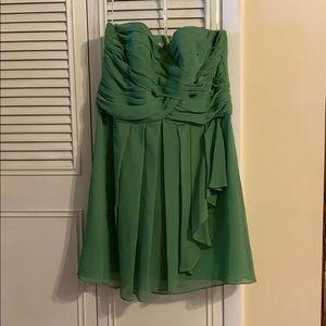 David's Bridal Dresses - Green bridesmaid dress